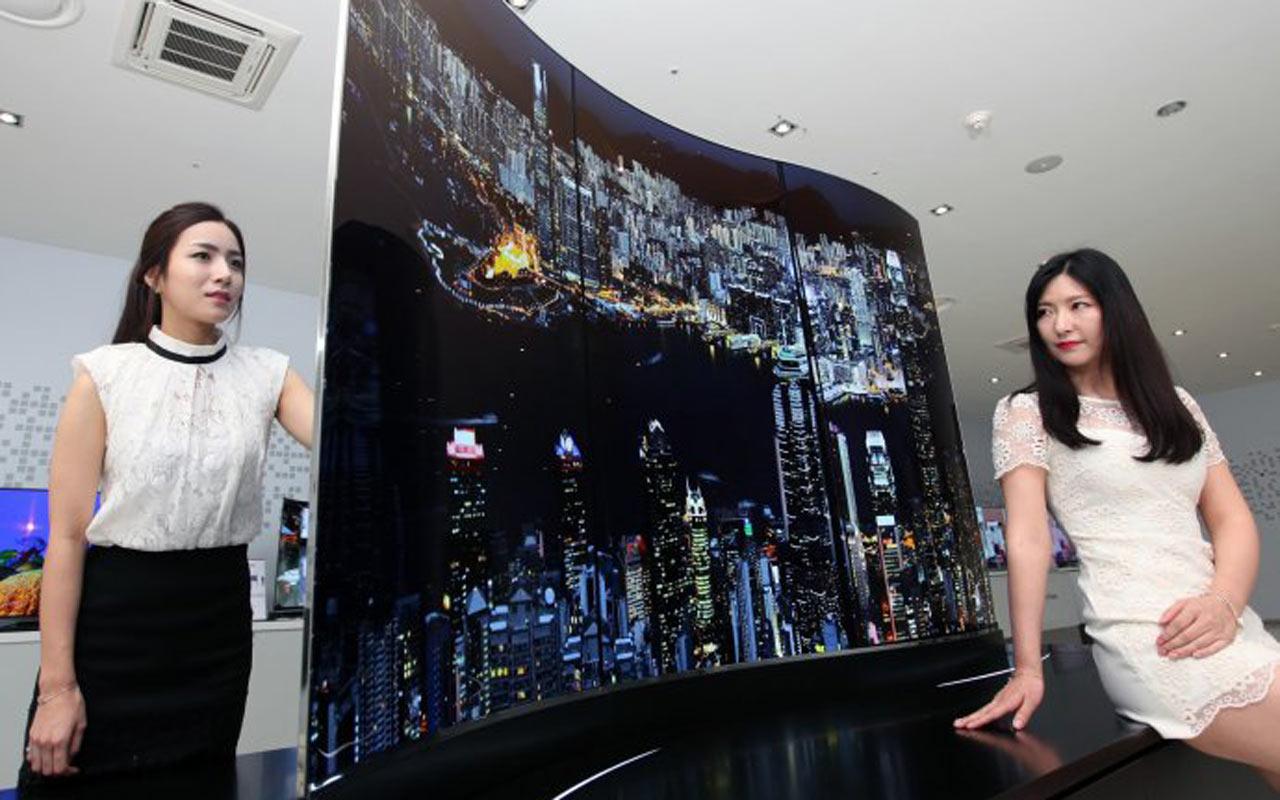 LG vjen me ekran 1mm (Foto)