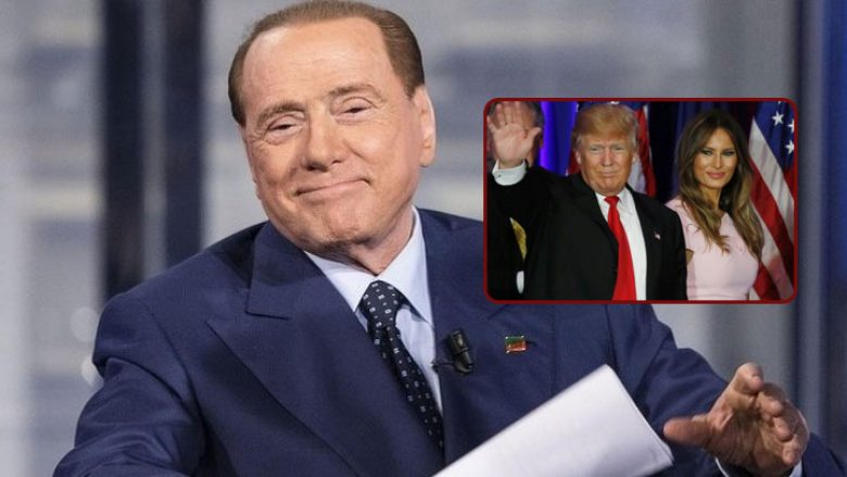 Berlusconi  Në lidhje me Trumpin më pëlqen vetëm gruaja e tij