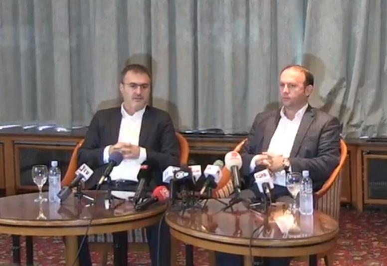 Zyrtarizohet koalicioni në mes Aleancës për Shqiptarët dhe Lëvizjes Besa