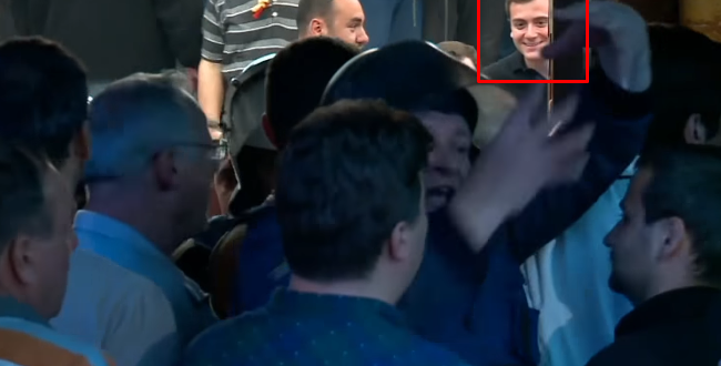 Djali i Mijallkovit në stacion policor
