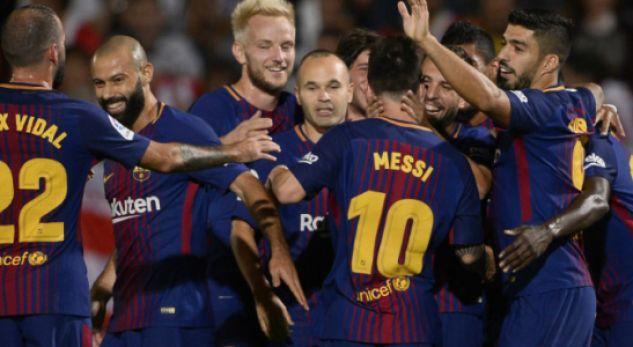 Barcelona drejt thyerjes se rekordit të Arsenalit  nëse fiton La Ligan pa humbje
