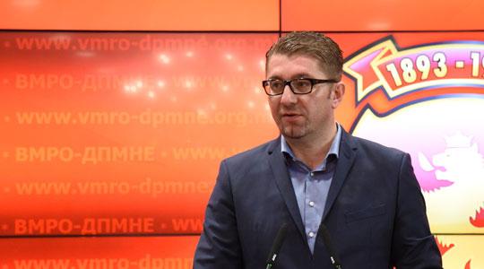 Mickoski  Lapsi nuk puthet  puthet emri i vendin tënd  Zaev të mos e poshtërojë veten