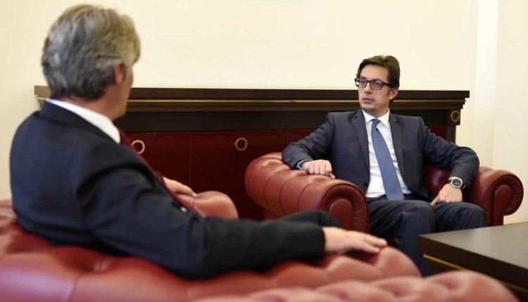 Takim i Pendarovskit me Selën   Qasje të përgjegjshme për plotësimin e agjendës reformuese