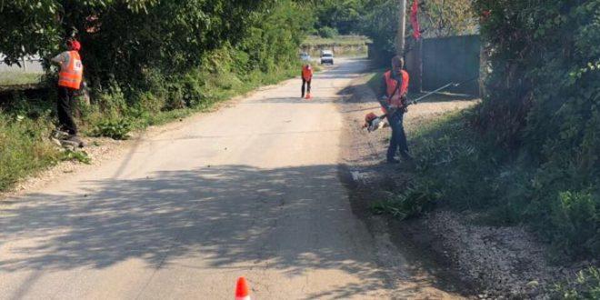 NKP Saraj  Fillon pastrimi në të gjithë rrugët e komunës së Sarajit