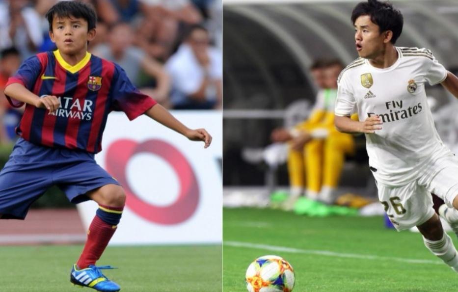 Japonezi  mollë sherri  mes Realit dhe Barcelonës